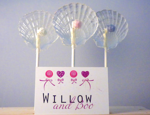 Mermaid Shell Lollipops