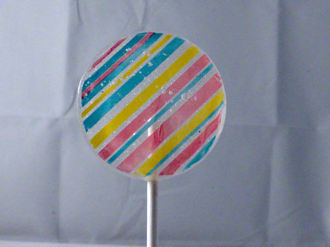 stripes lollipop