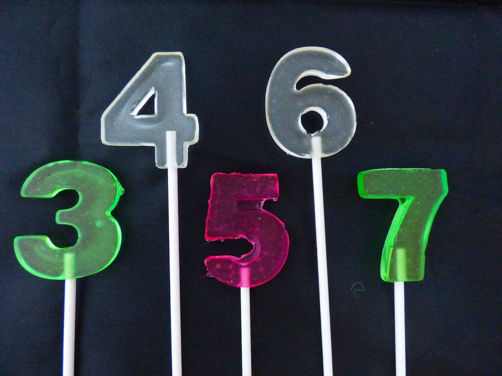 Number  Lollipops 1-3