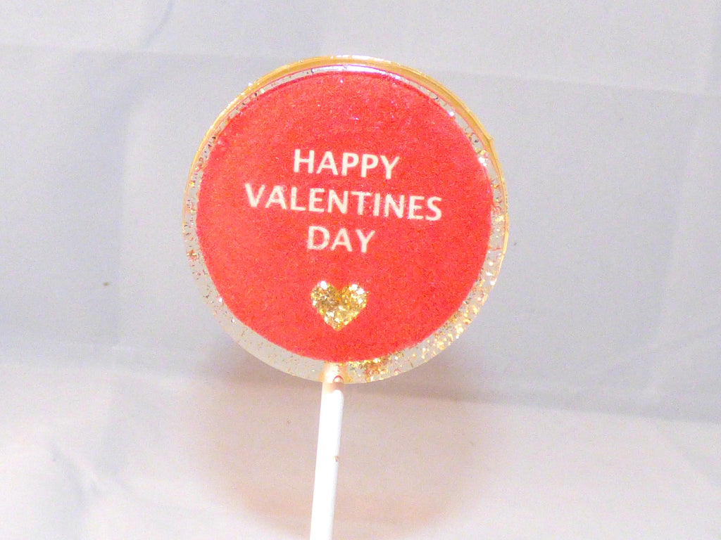 Happy valentines day Lollipop