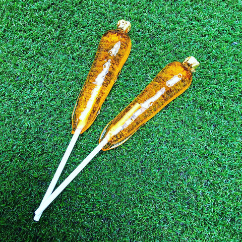 24Karat carrot lollipops