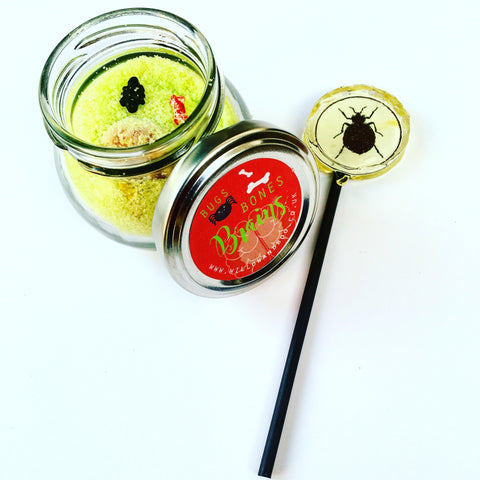 Bugs, Bones and Brains sherbet dip jars