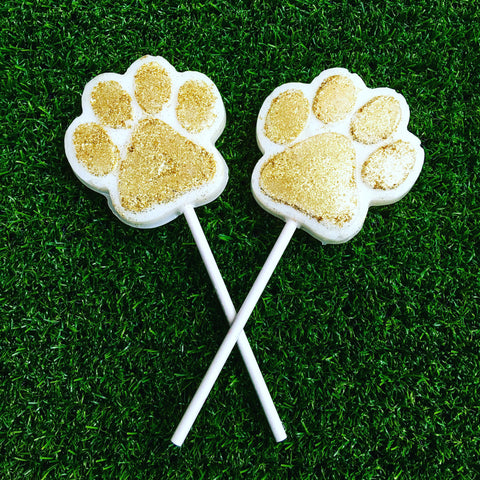 Easter bunny paw Lollipop