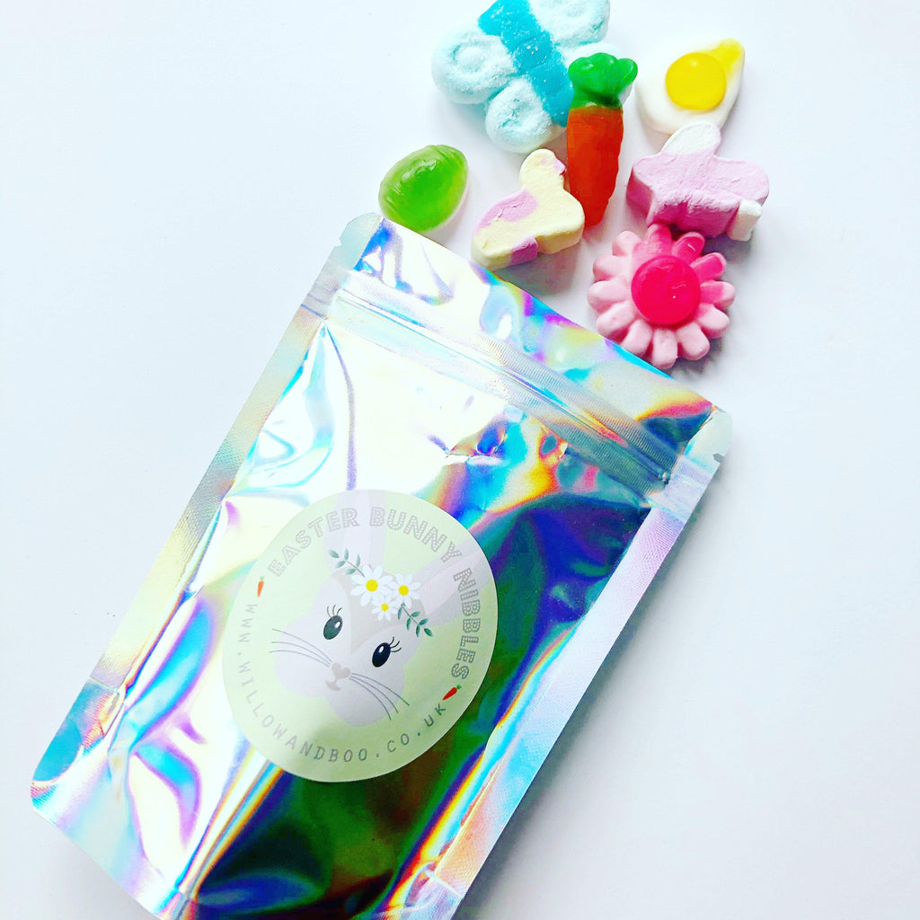 Easter Bunny Nibbles sweetie pouch