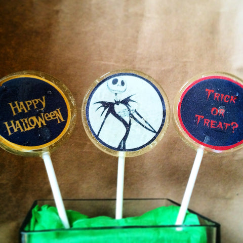 Happy Halloween lollipops