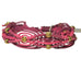 "Rose Gonzales ""Gigi"" Boheme Collection Woven Bracelet in Burgundy & Watermelon - Belle Fleur Boutique"