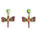 Anne Koplik Dragonfly Dream Post Earrings - Belle Fleur Boutique