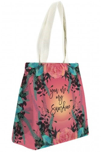 PAPAYA! Art Natural Rose Insulated Lunch Bag - Belle Fleur Boutique