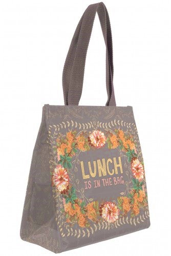 PAPAYA! Art Peachy Wild Insulated Lunch Bag - Belle Fleur Boutique