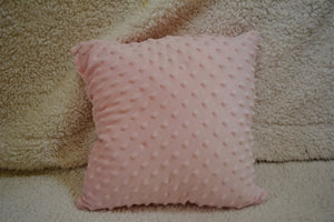 Mini baby pink stuffed pillow