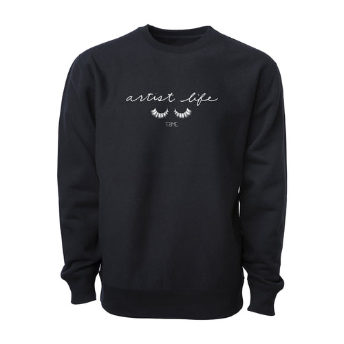 ARTIST LIFE LUXE HD CREW-NECK SWEATER