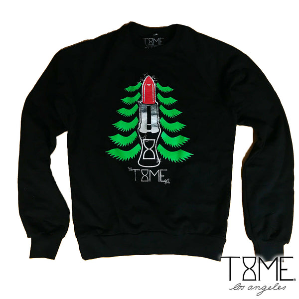 HOLIDAY LASH TREE SWEATER