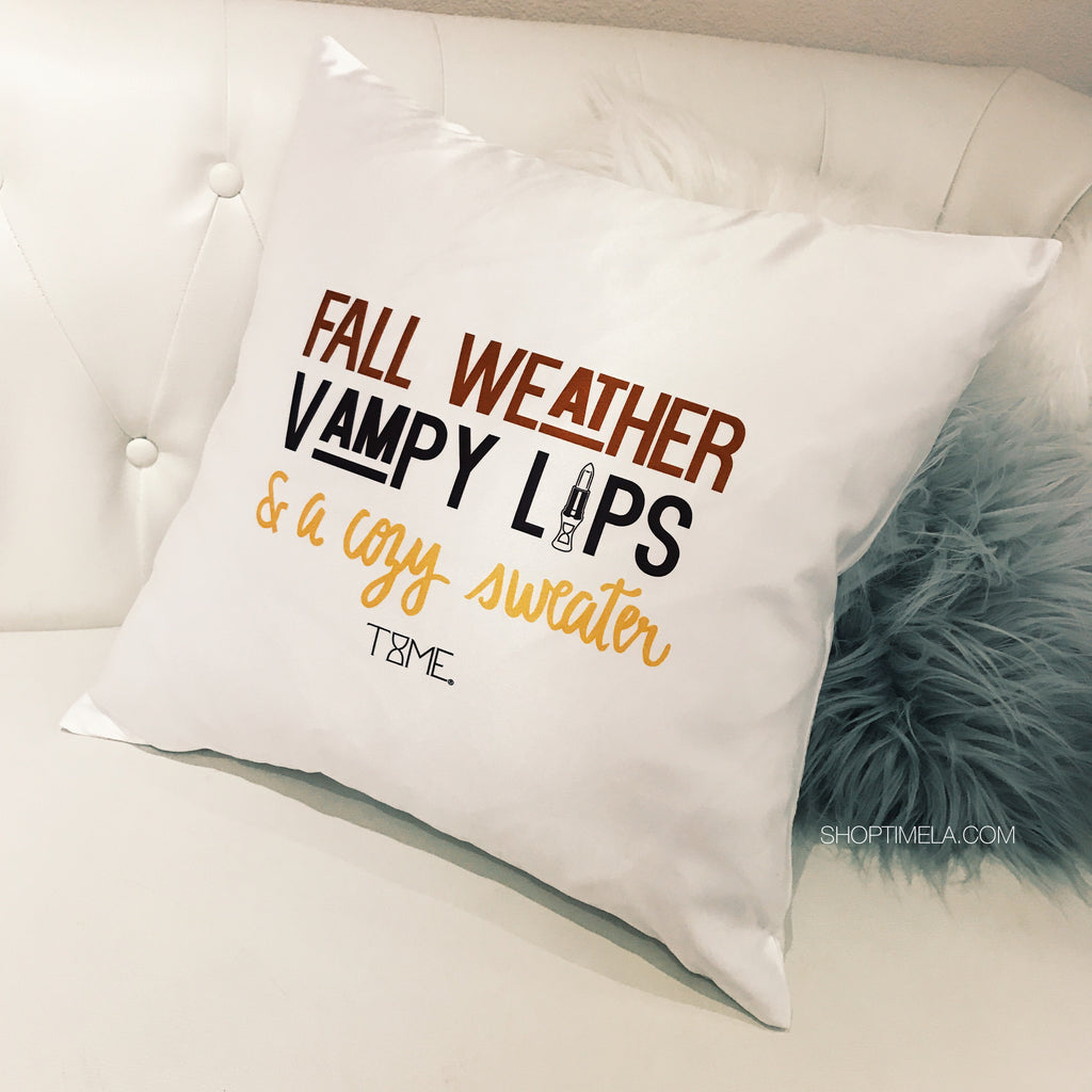 VAMPY DECORATIVE PILLOW *LIMITED EDITION*