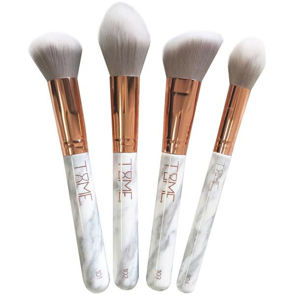 TIME MARBLE FACE BRUSH SET