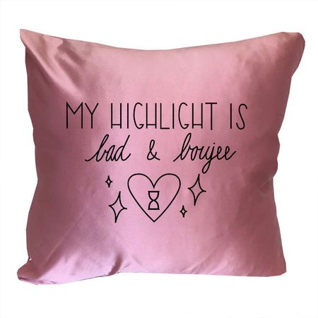 I ONLY HAVE TIME FOR MAKEUP DECORATIVE PILLOW