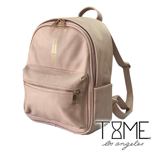 LUXE LIPSTICK BACKPACK PURSE - BLUSH NUDE