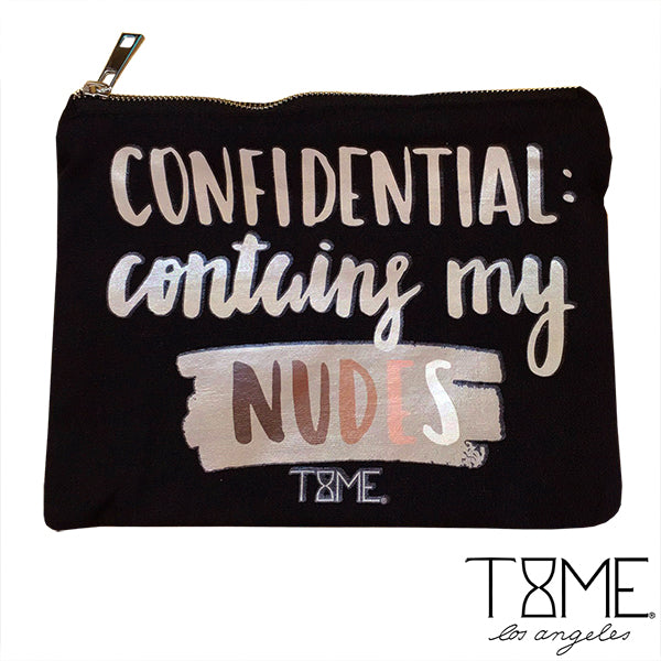 CONFIDENTIAL COSMETIC BAG