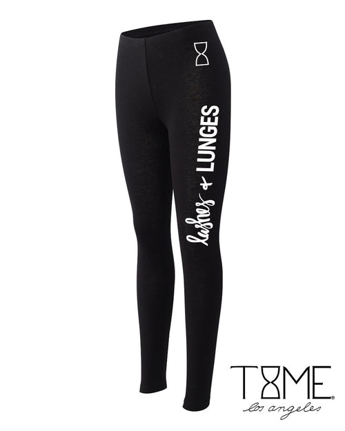 LASHES + LUNGES LEGGINGS
