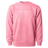 LIPSTICK. LASHES. LUXURY. UNISEX SWEATER
