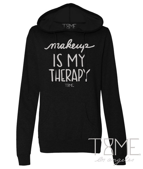 MAKEUP IS MY THERAPY HOODIE