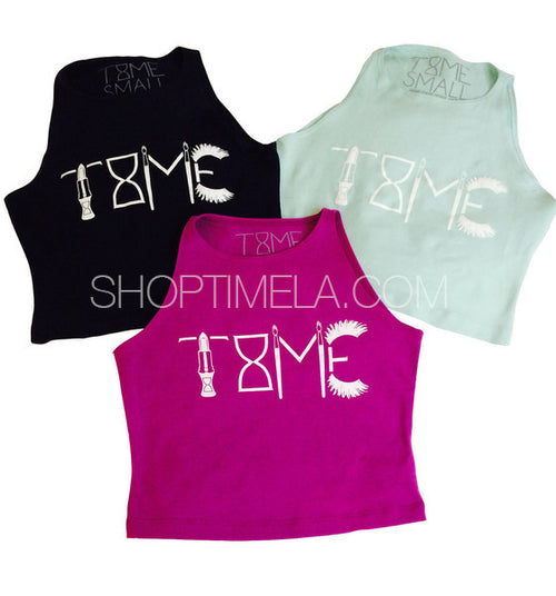 TIME FITTED CROP TOP