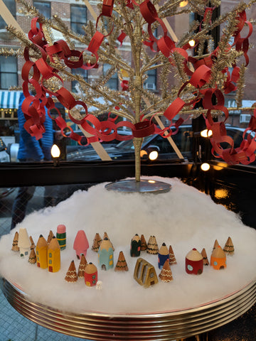 Polymer Clay Christmas Village.Building A Tiny Pencil Village Cw Pencil Enterprise