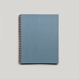Spiral Bound Notebook - Chambray Blue