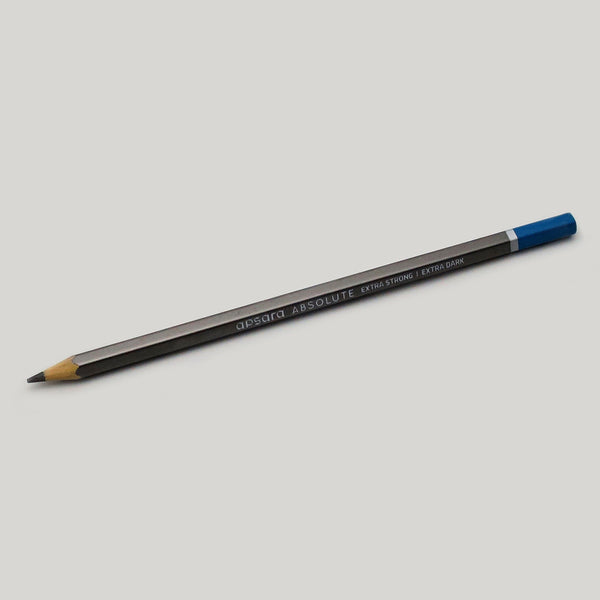 Extra bold extra strong graphite Apsara Absolute pencil