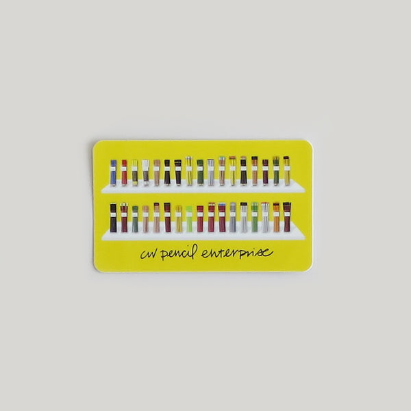 CW Pencil Enterprise Shop Sticker