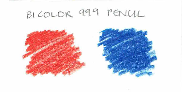 Bicolor 999 Red/Blue Pencil