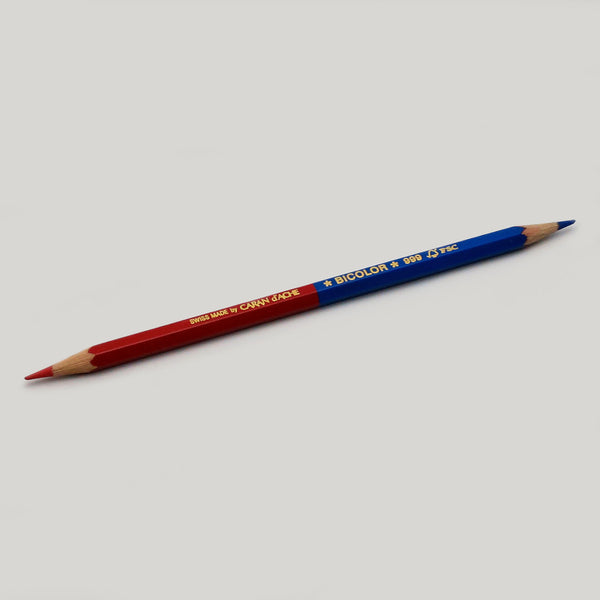 Bicolor 999 Red/Blue Pencil - CW Pencil Enterprise