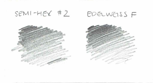 Edelweiss f pencil swatch