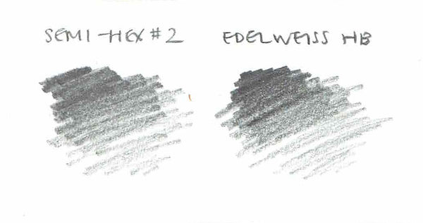 Edelweiss HB pencil swatch
