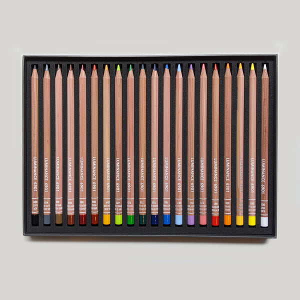 Luminance Colored Pencils - Set of 20