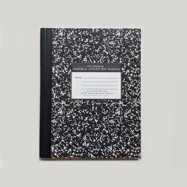 College Ruled Composition Notebook - Large