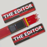 The Editor Pencil - HB/Red