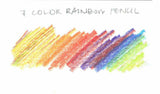 Seven Color Rainbow Pencil - CW Pencil Enterprise