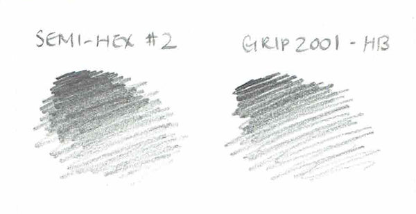 Grip 2001 Pencil with Eraser - HB - CW Pencil Enterprise