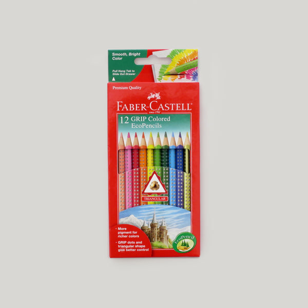 Grip Eco Colored Pencils - 12 pack
