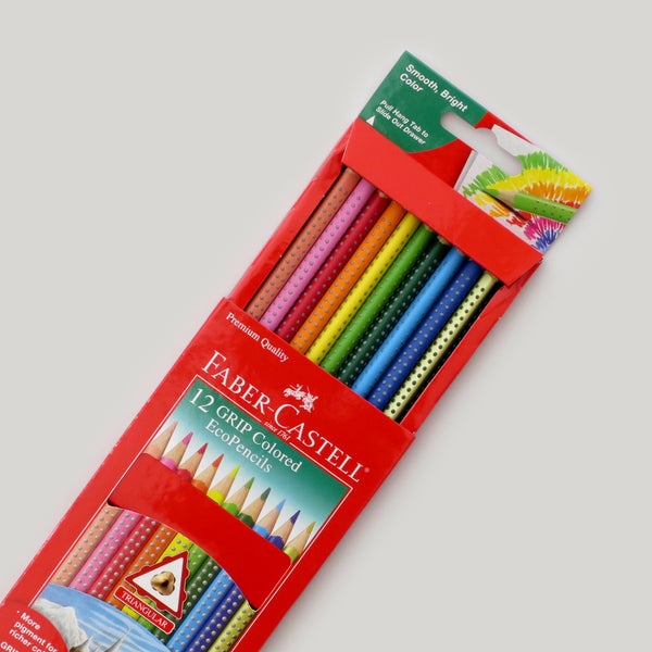 Grip Eco Colored Pencils - 12 pack - CW Pencil Enterprise