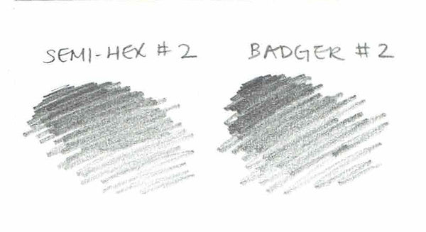 Badger #2 pencil swatch