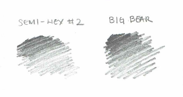 Big Bear #2 pencil swatch