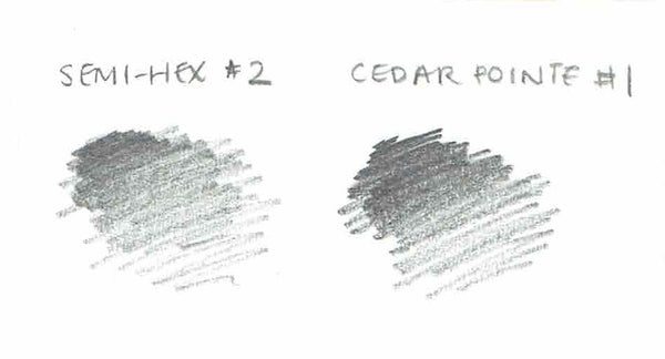 Cedar Pointe #1 pencil swatch