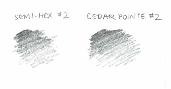 Cedar Pointe #2 pencil swatch