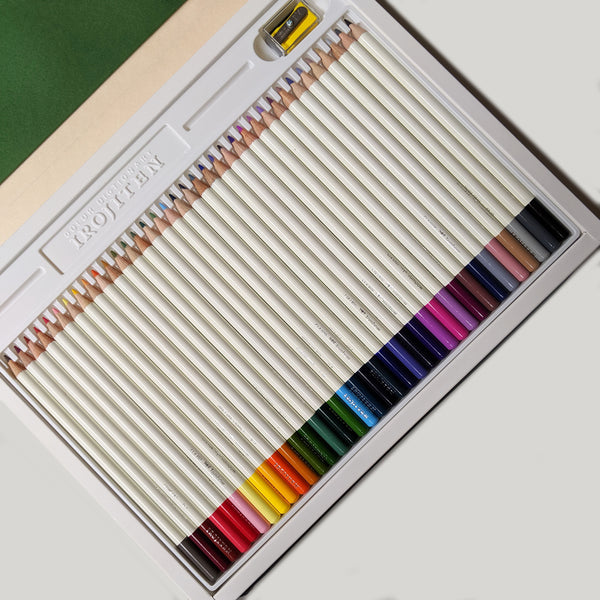 Irojiten Set of 36 Colored Pencils