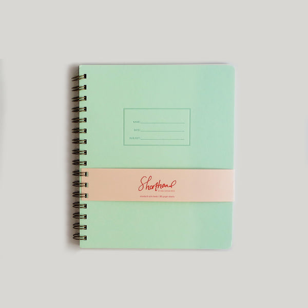 The Standard Notebook - Mint - CW Pencil Enterprise