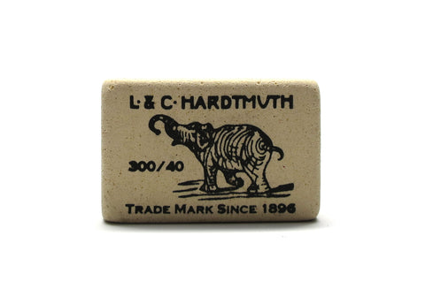 L & C Hardtmuth Rubber Eraser - Small