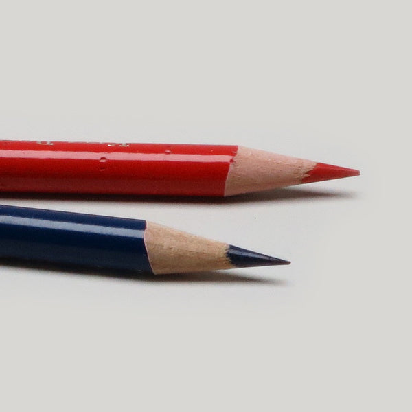 Vermillion/Prussian Blue 9667 Pencil - CW Pencil Enterprise