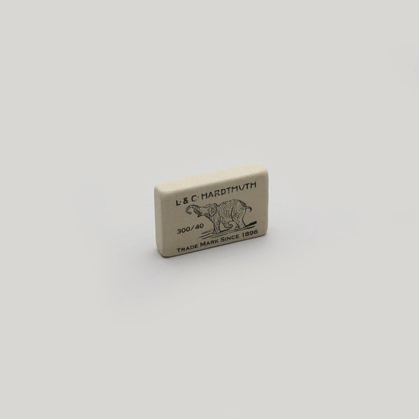L & C Hardtmuth Rubber Eraser - Small - CW Pencil Enterprise