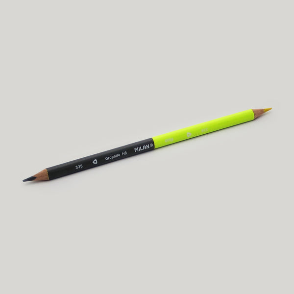 Graphite and Highlighter Combo Pencil